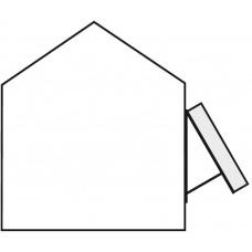 TWIN 1.3 Set für Fassade aufgeständert